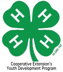 Cover photo for 4-H Upcoming Events