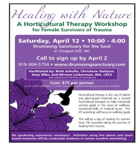 Cover photo for Healing With Nature: A Horticultural Therapy Program for Female Survivors of Trauma