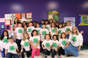 Cover photo for Dana 4-H Club Learns About Citizenship