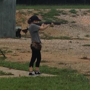 Emily Capps shotgun