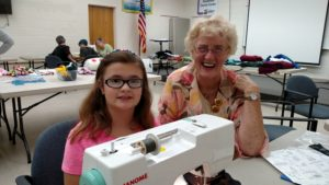 Cover photo for Volunteer to Help With 4-H Sewing Classes!