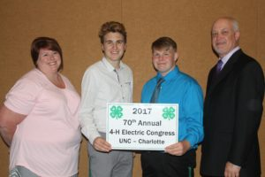 Cover photo for Henderson County 4-H Delegation Attends Annual Electric Congress