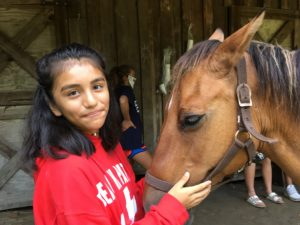 Cover photo for Building Confidence at 4-H Camp
