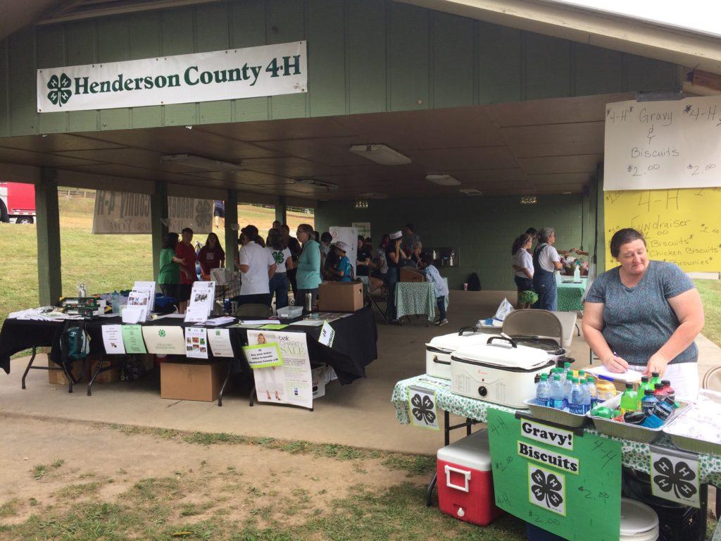 Henderson County 4-H exhibit