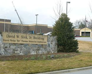 Image of the Sink Building at Blue Ridge Community College