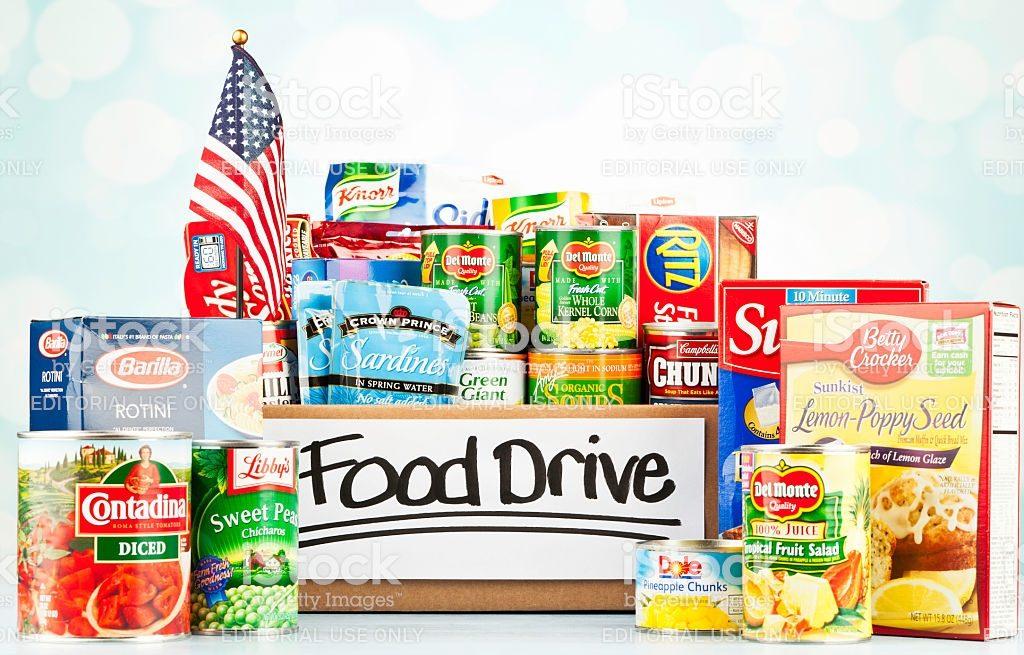 Food Drive flyer image