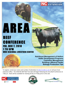 Cover photo for Area Beef Conference - December 7