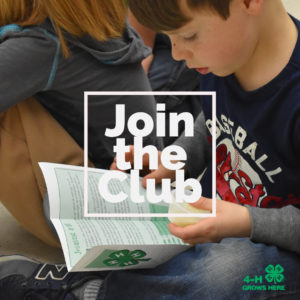 Cover photo for Enroll for 4-H in 2019