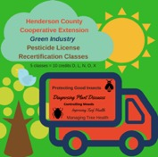 Pesticide Licensing Recertification Classes flyer image