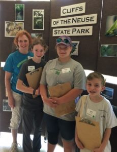 Image of the Young Naturalists 4-H Club winners