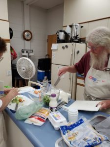 Cover photo for Extension Master Food Volunteer Classes Are Underway