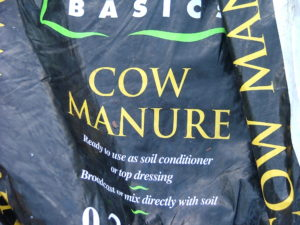 Cow manure banner image