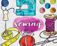 Cover photo for 2020 Adult Sewing Classes!