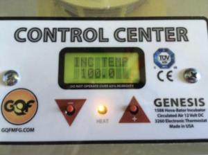 Control Center temp indicator