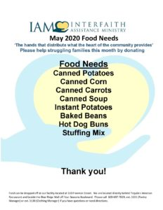 Cover photo for 4-H County Council Asks You to Donate Food to Needy People