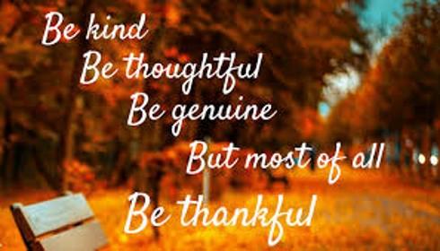 Be thankful header