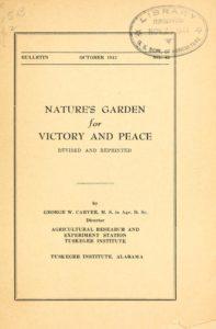 victory garden flyer