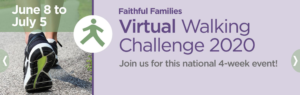 Cover photo for Virtual Walking Challenge 2020
