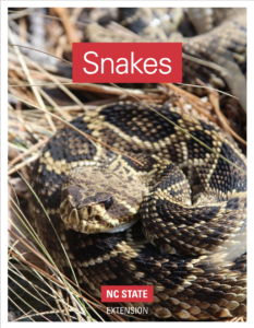 NC State publication on snake identification
