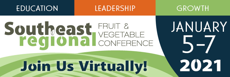 Southeast Regional Fruit and Vegetable Conference banner