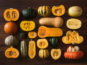 winter squash and pumpkins