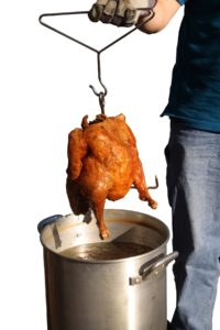 Cover photo for How to Safely Fry a Turkey