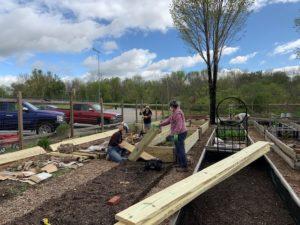 Building a community garden