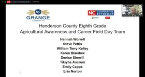 Cover photo for Henderson County Shines at 2020 NC Extension Awards Ceremony