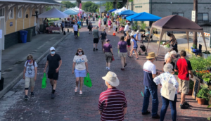Cover photo for Shop Fresh and Local in Henderson County: A 2021 Farmers Market Guide