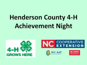Cover photo for 2021 4-H Achievement Night
