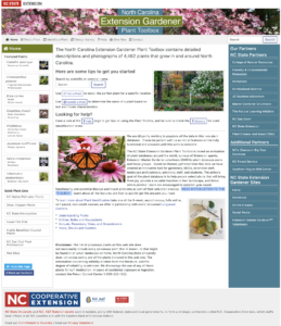 Plant Toolbox NC State