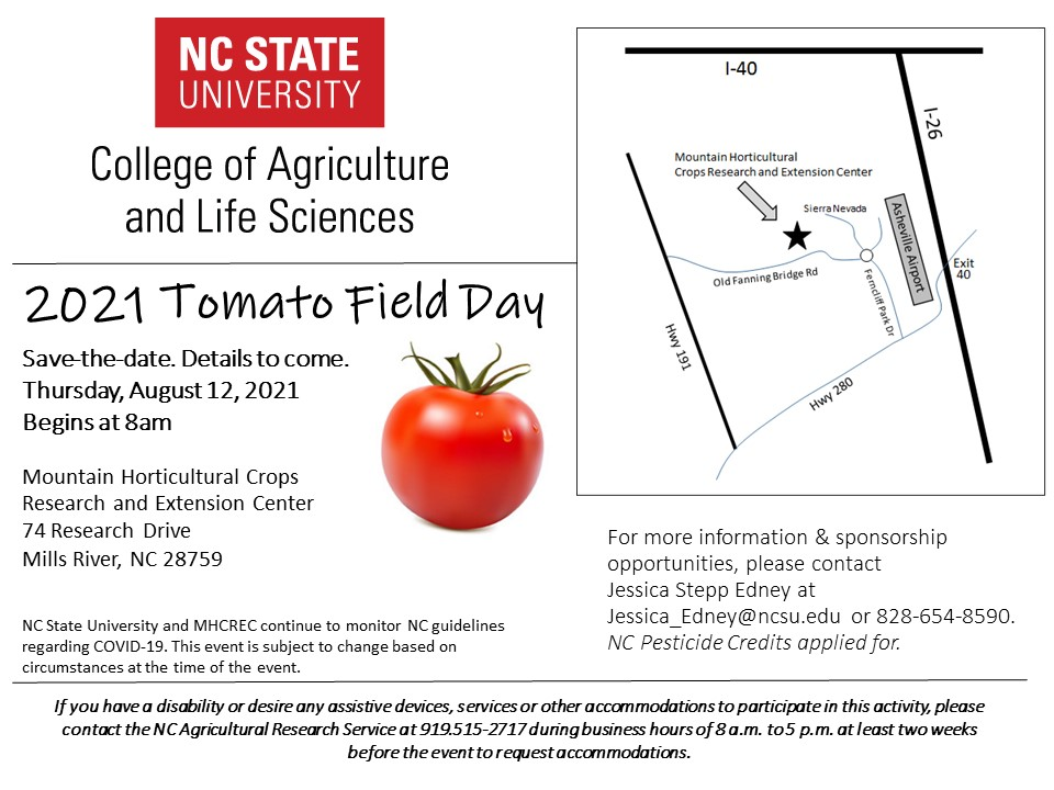 2021 Save the Date Tomato Field Day Pic
