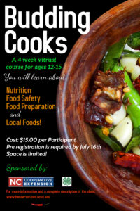 Cover photo for Budding Cooks